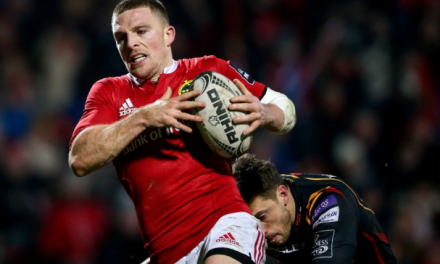 Munster's Andrew Conway set for Ireland start against Japan