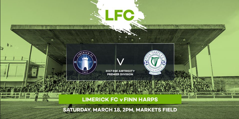 Limerick V Finn Harps banner