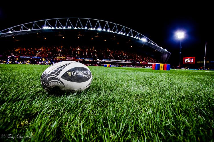 Guiness Pro12 Ball at Thomond Park