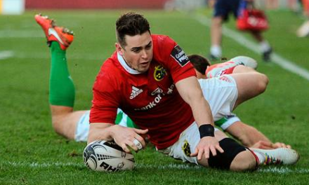Munster A team named for Ulster game