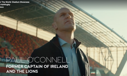 IRFU launch video promoting stadia for 2023 bid