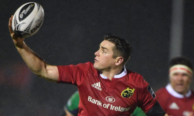 Munster's Ronan O'Mahony ready to take his chance