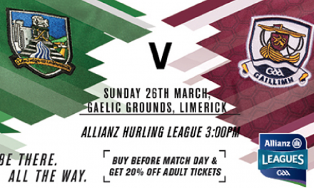 Limerick Hurlers conclude the League with Tricky Galway Assignment