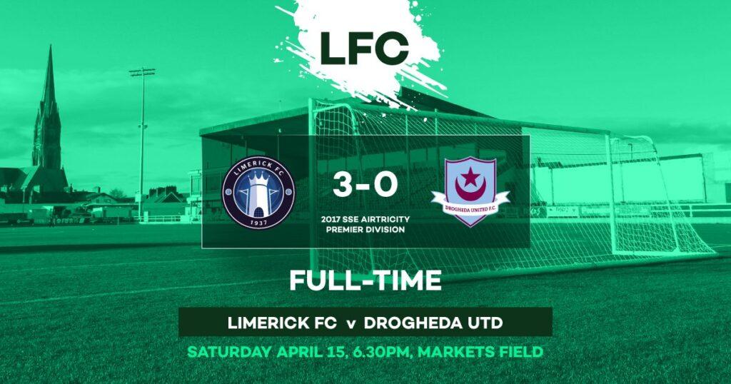 Limerick 3-0 Drogheda