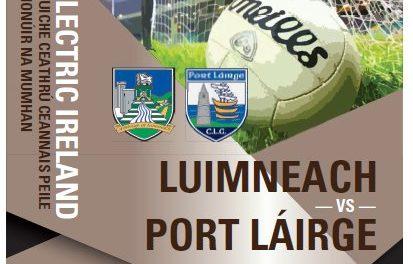 Limerick Minor Football team annoucement