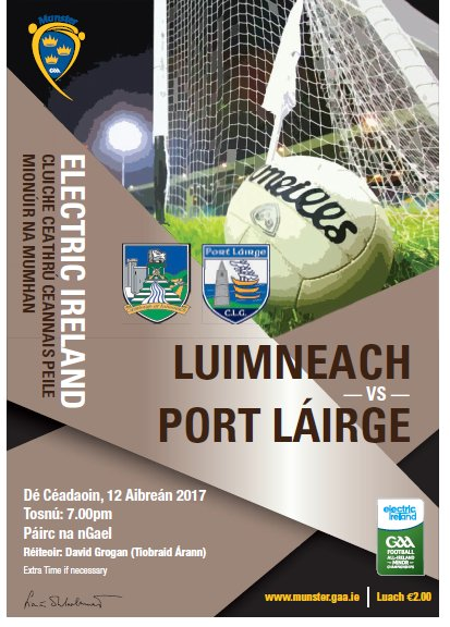 Limerick V Waterford Minor Football