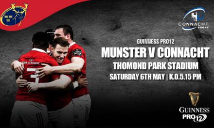 WATCH: Munster V Connacht Promo