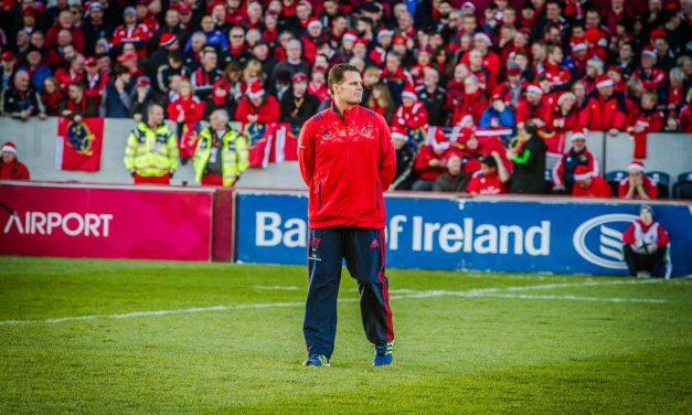 Erasmus discusses his decision to leave Munster
