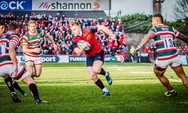 One change for Munster as Rory Scannell makes first start of the season