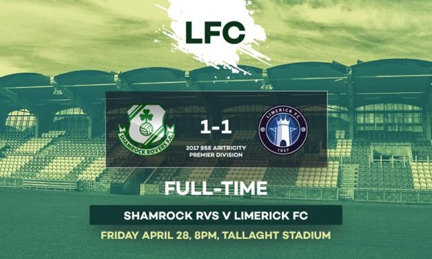 Last gasp Tosi goal scrambles well earned point for Limerick
