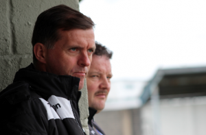Limerick FC interim manager Willie Boland