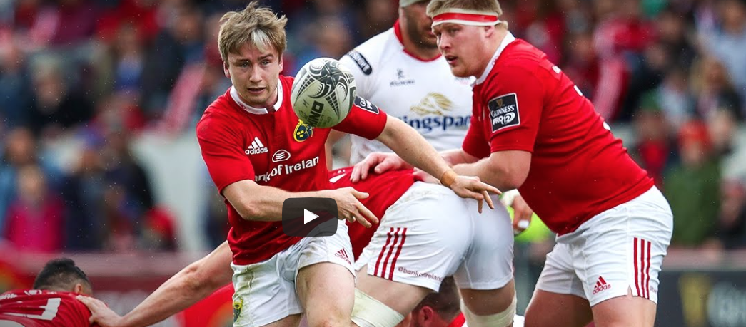 highlights of Munster's win over Ulster at the weekend