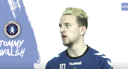WATCH: Interview with Limerick FC's Tommy Walsh