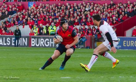 Bleyendaal named Munster Player of the Year