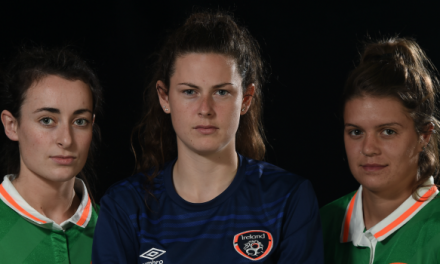 Irish women's U-19's take on Ukraine tonight
