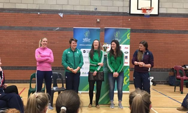 Women's Rugby World Cup tour comes to Limerick