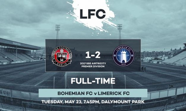 Limerick emerge victorious from Bohemians clash