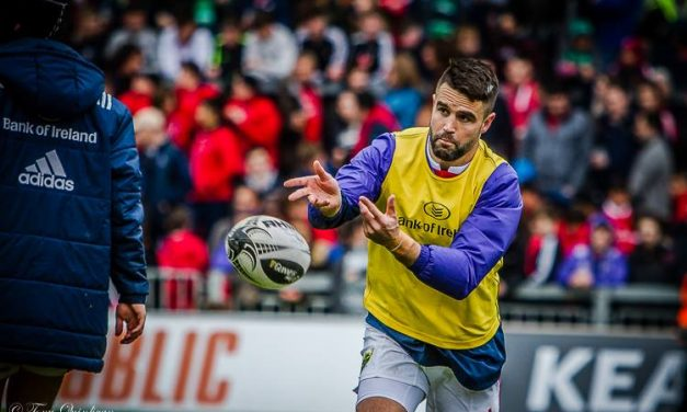 Conor Murray talks with TG4 ahead of Saturday's semi final