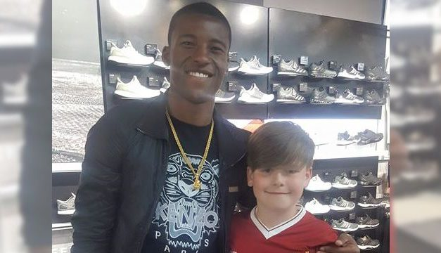 Liverpool player makes Limerick boy's day following extremely kind gesture