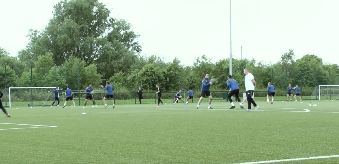WATCH: Limerick FC in Training