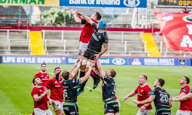 Munster's to face stern Ospreys test in Wales