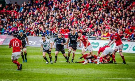 Highlights of Munster's semi final win over Ospreys