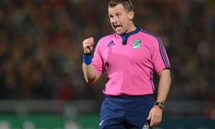 Referee for this weekend's Guinness Pro12 final announced
