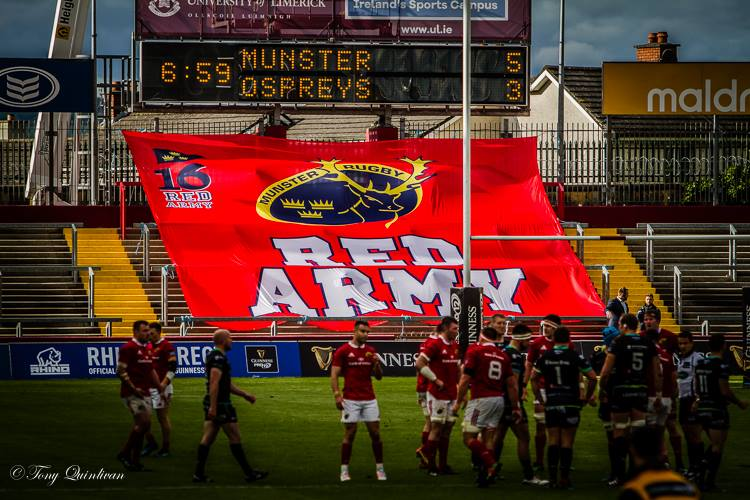 Munster will not be wearing red for Guinness Pro12 final