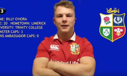 Limerick man chosen for ambassador role with the Lions