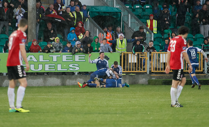 Ogbene's late strike earns Limerick point against Derry