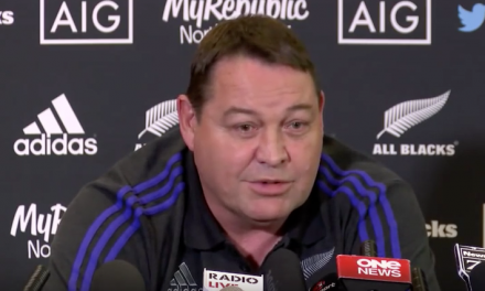 Steve Hansen is not happy with Warren Gatland's claims over Murray