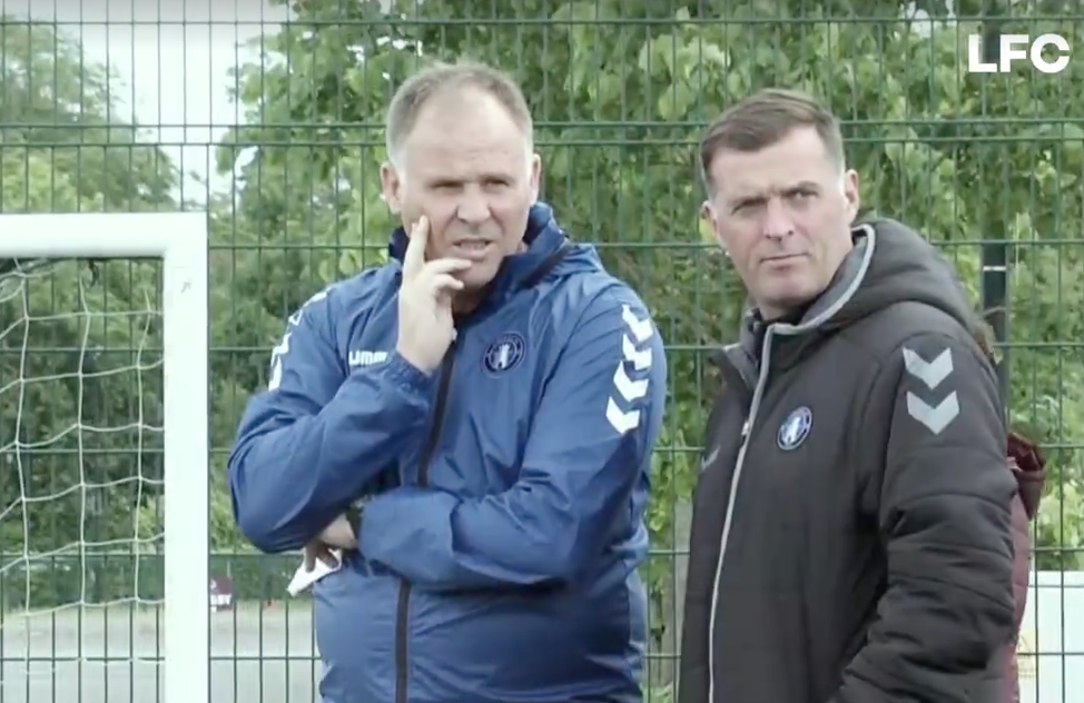 Neil McDonald takes first Limerick FC training session