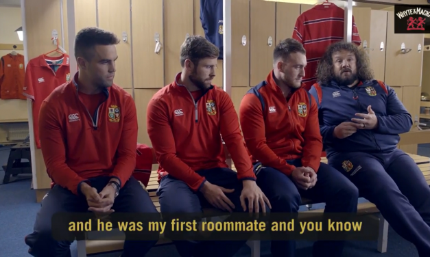 Watch: Conor Murray takes part in hilarious Lions video