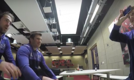 WATCH: A game of Heads up with some of the Munster Rugby squad