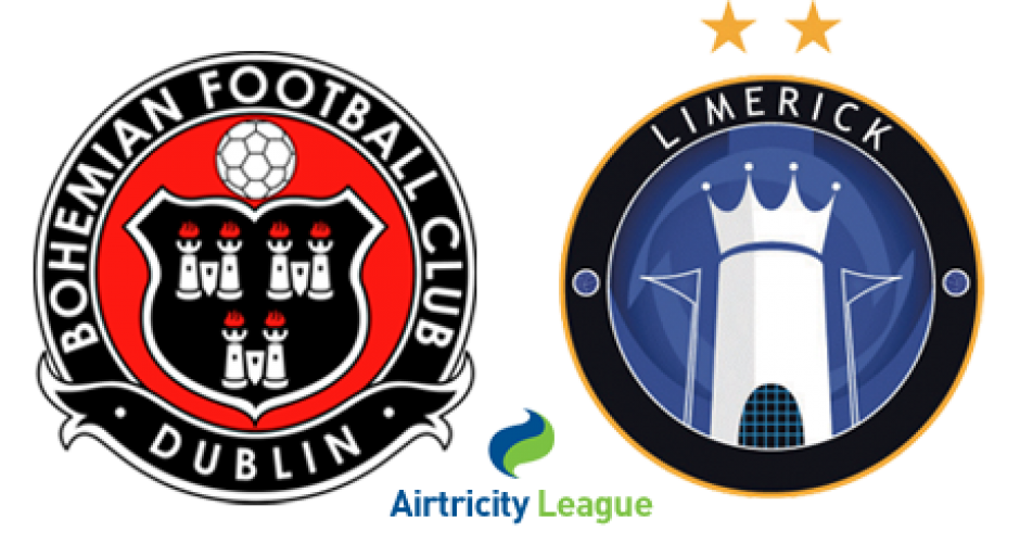 Limerick travel to Phibsboro to take on Bohemians