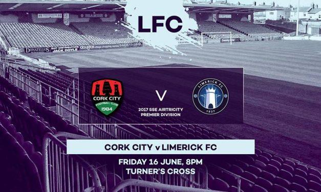 Limerick aim for positive result Cork City in Munster derby