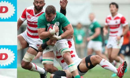Ireland beat Japan 35-13 to make it three from three on Summer Tour