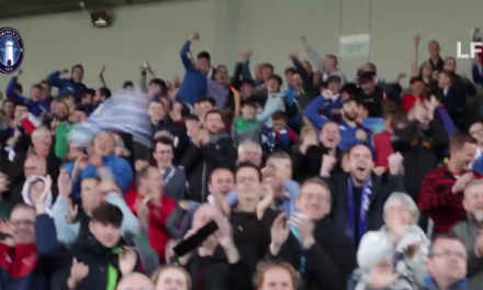 WATCH: Limerick FC Supporters celebrate Bray Win