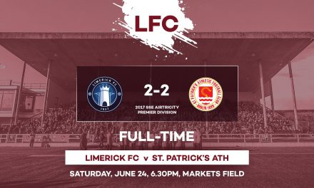 Limerick blow two goal lead to draw with St Pat's