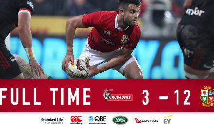 Gutsy Lions frustrate Crusaders in suffocating win