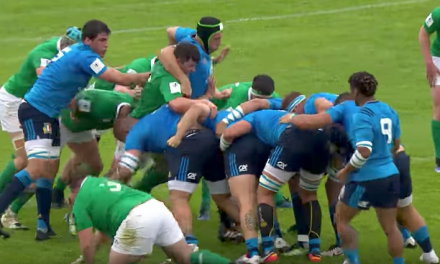 WATCH: Poor start for Ireland U20's who lose to Italy in opening round
