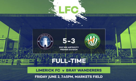 Limerick FC emerge victorious in eight goal thriller at the Markets Field