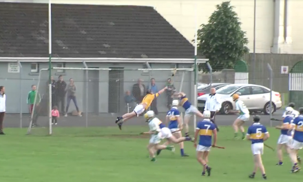 Patrickswell's Gary Murphy makes astonishing save in Junior League Final