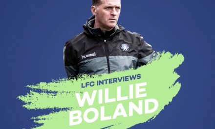 Willie Boland speaks with Limerick FC about his footballing philosophy