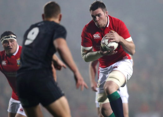Munster's Peter O'Mahony will captain the Lions in first test