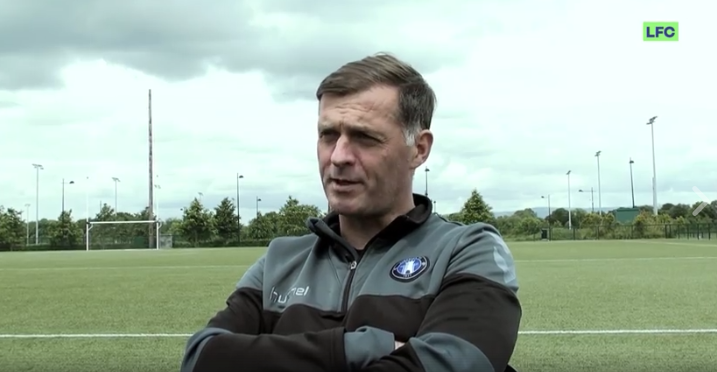 WATCH: Interview with Limerick FC's academy director Willie Boland