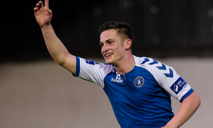 Listen – Tony Whitehead looking forward to St Pats clash