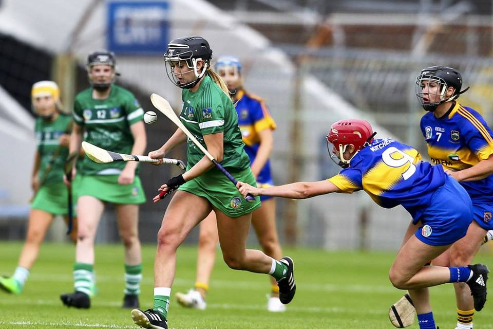 Limerick open 2018 All Ireland Camogie Championship against Kilkenny