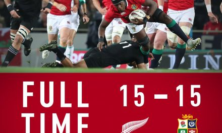 Series drawn as Lions battle to earn 15-15 draw with All Blacks