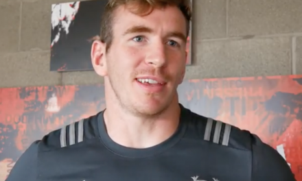 WATCH: Interview with new Munster centre Chris Farrell